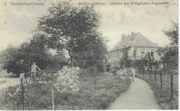 VIRELLES-LEZ-CHIMAY : Ancien Chateau Institut Religieuses - Edit.E.Douniau, Cartes En Gros, Chimay - Cachet Poste 1913 - Chimay