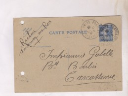 TIMBRE ENTIER NO 237 CPI Sur CARTE POSTALE En 1935? - Entiers Postaux