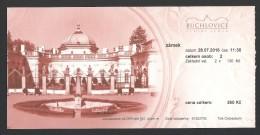 Czech Republic, Buchlovice, Entry Ticket - Tickets - Vouchers