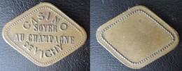 Jeton Casino De Vichy Champagne - Monétaires / De Nécessité