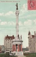 Scranton -  Soldier's Monument  - Pa   - Scan Recto-verso - Etats-Unis