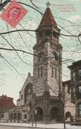 Memorial Church Of Holy Cross,Reading  ,   - Pa   - Scan Recto-verso - Etats-Unis