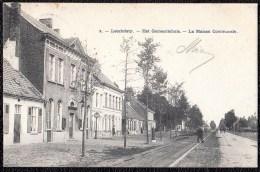 LOCHRISTIE - LOOCHRISTIE - Het Gemeentehuis - 1906 - Niet Courant ! - Boom
