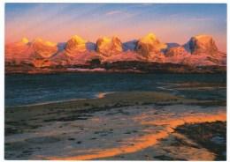 Helgeland Norway, Mountain Scenery View, C1980s Vintage Postcard - Norvège