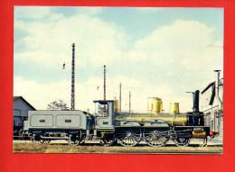 Chemin De Fer Mulhouse - Locomotive 340 P.O. - Trains