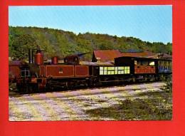"""Chemin De Fer - Train - Le Train Historique De L'Ajecta Locomotive 030 T N°3032""""Rimaucourt- Dépôt D'Ajecta à Longueville - Trains"""