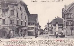 Dornbirn - Marktstrasse * 8. April 1904 - Dornbirn