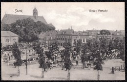 SNEEK - NIEUWE VEEMARKT  - Niet Courant - Animatie 1910 - Sneek
