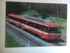 5651 - Suisse Vitznau-Rigi-Ban (VRB)  Train Navette à Crémaillère Bhe 4/4 21 (Format 10 X 15) - Trains