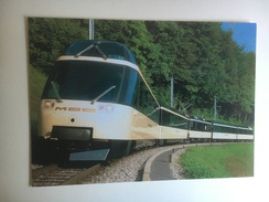 5658 - Suisse Crystal Panoramic Express MOB  (Format 10 X 15) - Trains
