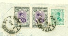 Iran / Postes Persanes - 3 Stamps On Piece - Iran