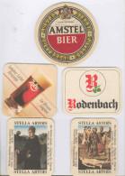 Lot De Dessous De Bock De Bière Original - Portavasos