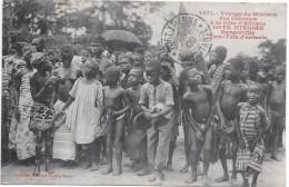 COTE D'IVOIRE - Voyage Du Ministre Des Colonies - BUNGERVILLE - Tam-tam D'enfants - Côte-d'Ivoire