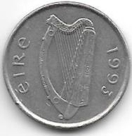 ¨ireland  5 Pence   1993   Km 28 - Irlande