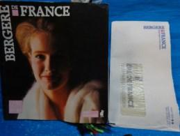 Catalogue De Laine Echantillons-bergere De France-livre Tricot 87/88 - Laine
