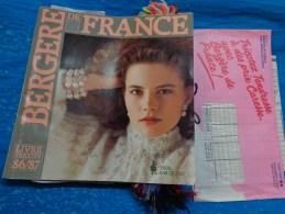 Catalogue De Laine Echantillons-bergere De France-livre Tricot 86/87 - Laine