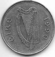 Ireland  1 Pound   1990   Km 27 Xf+ - Irlande
