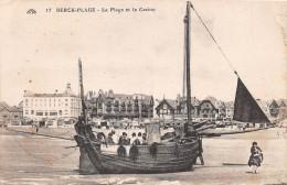 BERCK PLAGE - La Plage Et Le Casino - Berck