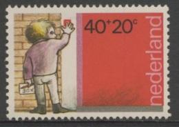 Nederland Netherlands Pays Bas 1978 Mi 1128 ** Boy Ringing Doorbell/ Hausierender Junge/ Jongen Verkoopt Kinderpostzegel - Kindertijd & Jeugd