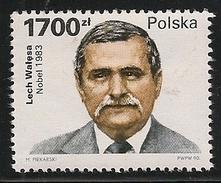 Poland: 1990 Lech Walesa, Nobel Prize Winner MNH - 1944-.... République