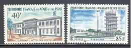 Afars Et Isaas: Yvert N°355/6; La Serie Compléte - Afars Et Issas (1967-1977)
