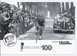 PARIS TOURS Cyclisme Sur Route édition Spéciale Nouvelle République Du Centre - André Mahé Vainqueur- - Radsport