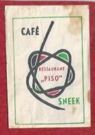Suikerzakje.- Sneek. Café Restaurant  - PISO -   2 Scans - Zucker