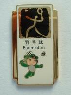 PIN´S BADMINTON - J.O PEKIN 2008 - Badminton