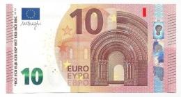 EURO NETHERLANDS 10 PA DRAGHI P006 A1 I6 UNC - EURO