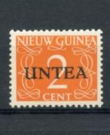 UNTEA, United Nations, Netherlands New Guinea, 1962, 2 C, Type I, MNH, Michel 2I - Nuova Guinea Olandese