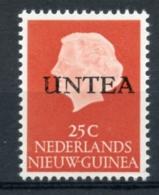 UNTEA, United Nations, Netherlands New Guinea, 1962, 25 C, Type I, MNH, Michel 10I - Netherlands New Guinea