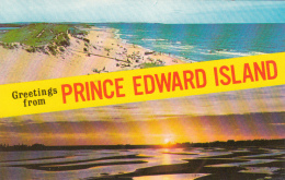Greetings From Prince-Edward-Island Canada - Unused - 2 Scans - Prince Edward Island