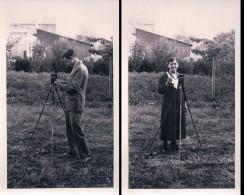 Photographes, Appareil Photo, Genève ? (702 - 703) - Photographie