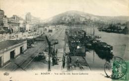 41    ROUEN - Vue Sur La Côte Sainte-Catherine (date 1915) - Haven