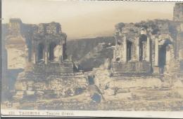 CPA - ITALIA -  TAORMINA - Teatro Greco .  . - Autres Villes