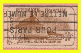 N° 230 ORPHELINS DE GUERRE 1926 : LION DE BELFORT - OBLITÉRÉ - - Oblitérés