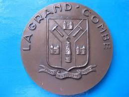 Médaille De 1975 LA GRAND COMBE - Le GARD, Mathieu Lacroix, Léo Larguier, Par TORCHEUX - Non Classés