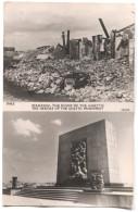 WARSZAWA, Warsaw, Poland - Anniversary Of Restoration 1945 / 1950. WW2, JUDAICA, The GHETTO Monument - Pologne