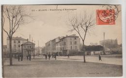 CPA ALES EX. ALAIS (Gard) - Faubourg D'Auvergne - Alès