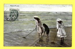 CPA 62 Le Touquet - Paris-Plage - Pas-de-Calais - Pêcheuse De Crevettes - Jeune Femme 1907 - Le Touquet