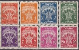 YUGOSLAVIA 89-96,unused - Postage Due