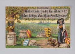 Motiv Landwirtschaft AK 1919-12-28 Landshut Kaliverbrauch In Kg Kainit Auf 1 Ha In Deutschland 1920 - Agriculture