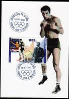 Republic De Guinee Olympics Boxing Bep Van Klaveren On Kind Of Maximcard Or Memorycard 2001