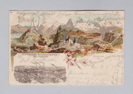 Motiv Chemie AK 1899-09-10 Mengerschied Litho Hoffmann's Stärkefabriken Salzuflen - Souvenir De...