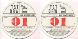 #D108-089 Viltje De Koninck - Sous-bocks