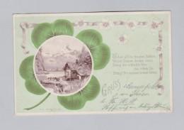 Motiv Kleeblatt  AK 1900-08-23 Langerfeld MS#12716 - Souvenir De...