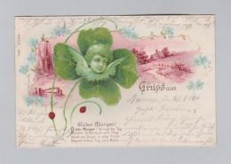 Motiv Kleeblatt  AK 1900-08-29 Barmen Litho EB & Cie #9230 - Souvenir De...