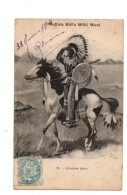 Buffalo Bill's Wild West.Eclaireur Sioux. - Indianer