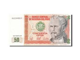 Pérou, 50 Intis, 1985-1991, 1987-06-26, KM:131a, SPL - Perú