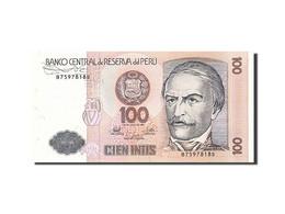 Pérou, 100 Intis, 1985-1991, 1987-06-26, KM:133, SPL - Pérou